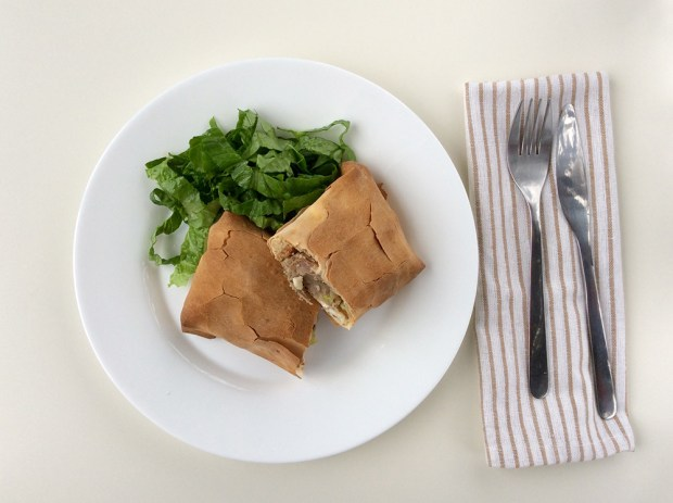 Din gastronomia elenă-Exohiko/εξοχικό de miel